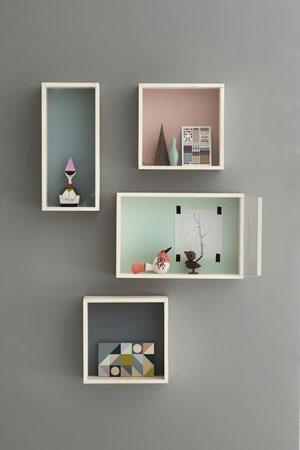 Shadow Box Frames used to make a frame wall