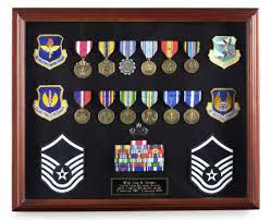 Box Frame used for medal display