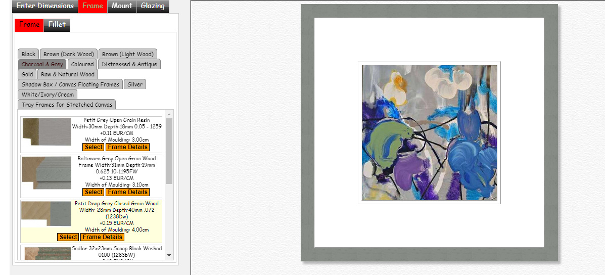 Picture Framing   Upload Image of Artwork/Photo & See-It Mounted ...